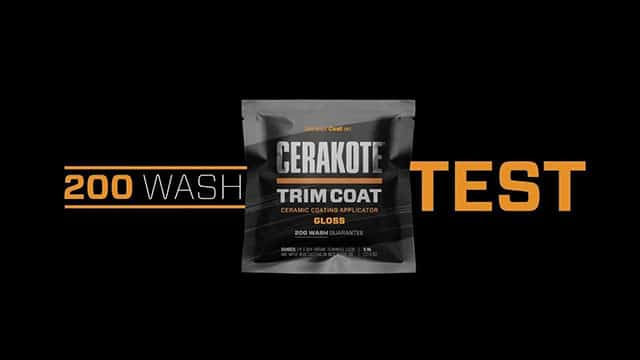 200 wash test video