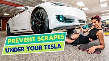 Sliplo Tesla bumper scrape guard