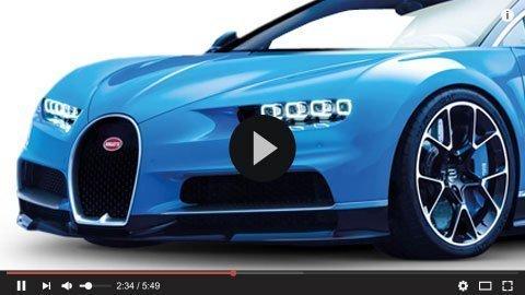 Bugatti Chiron Skid Plate by SLIPLO