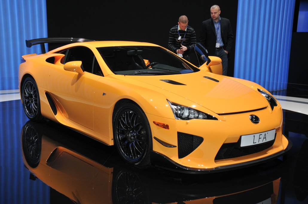 LFA Nürburgring Performance Package